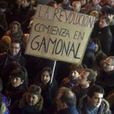 Gamonal Resiste timeline
