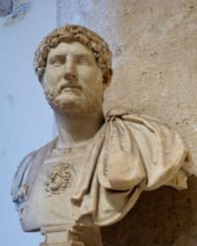 Hadrian - 96 A.D. to 180 A.D.