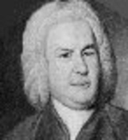 Johann Sebatian Bach (1685-1750)