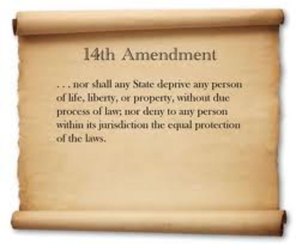 due process under the 5th amendment Due process and the eighth amendment to the us  to the us constitution in connection to your rights to due process under federal and new jersey law when.