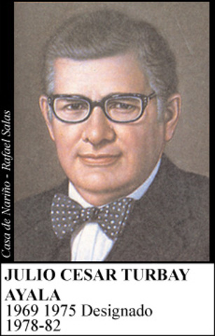 JULIO CESAR TURBAY  1978- 1982