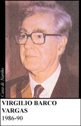 VIRGILIO BARCO 1986-1990