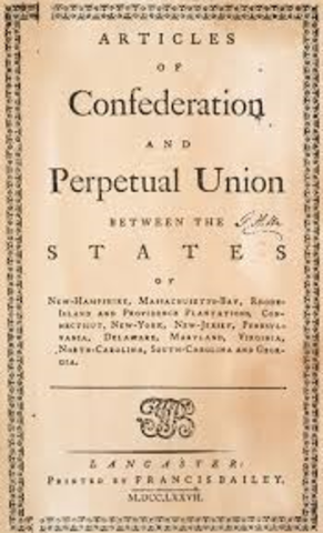 articles of confederation flaws Learn about the us articles of confederation, our first constitution  the  principles fought for in the american revolutionary war, it contained crucial flaws.
