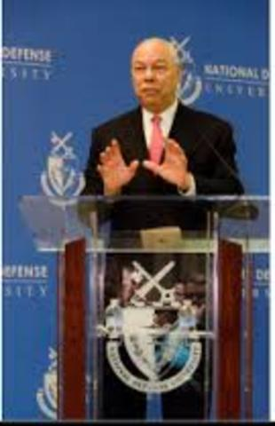 Colin Powell Chair for National Security, Leadership[, Character and Ethics