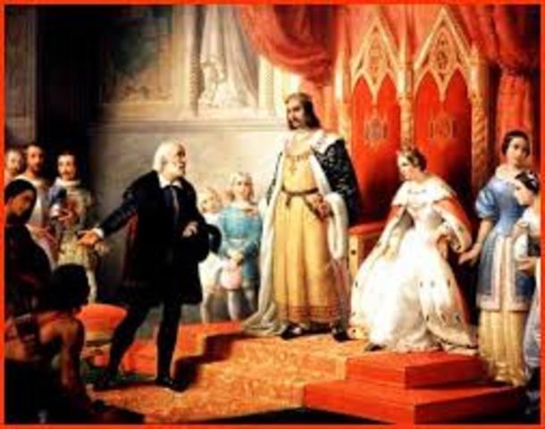 Matrimonio de los Reyes Católicos.