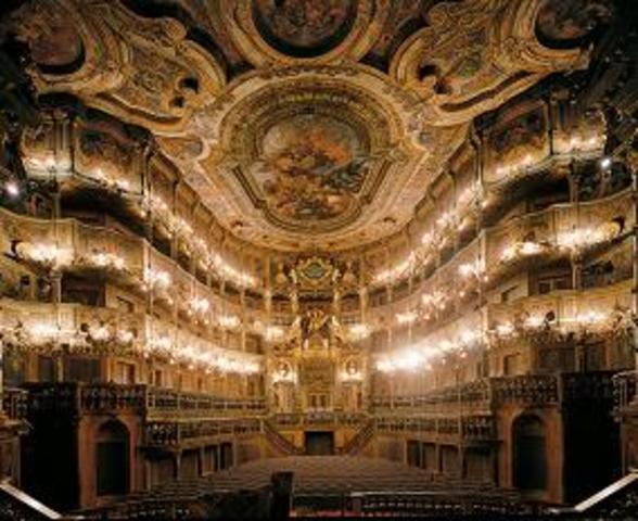 Początki opery.