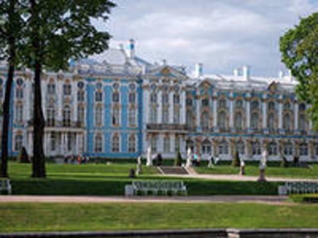 Восстановленный музей Эрмитаж.