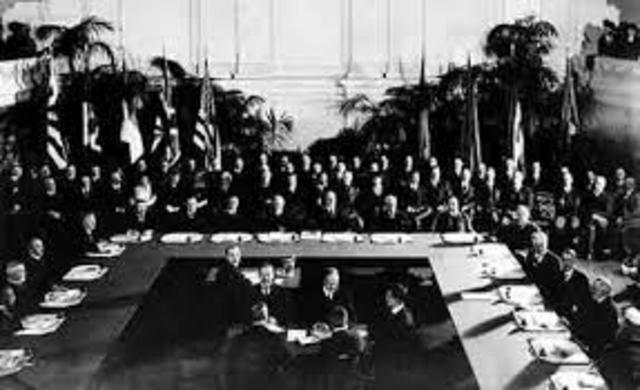 The Washington Conference is Held