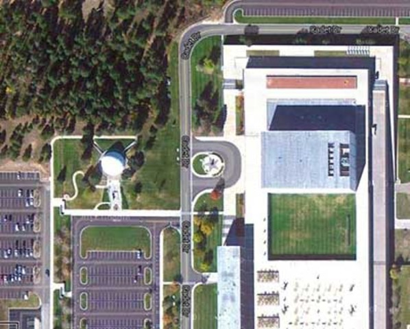 Colorado Springs, CO - Arnold Hall, US Air Force Academy
