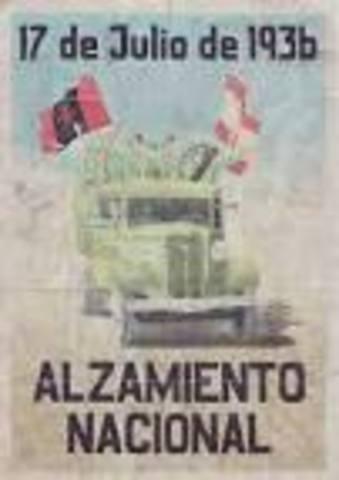 The Spanish Nationalists Begin the Spanish Civil War