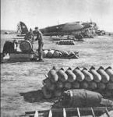 Spanish Nationalists Bomb Guernica