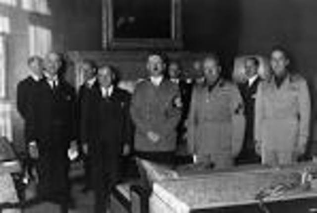 the Munich Pact is Signed