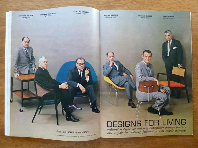 Charles Eames and Eero Saarinen