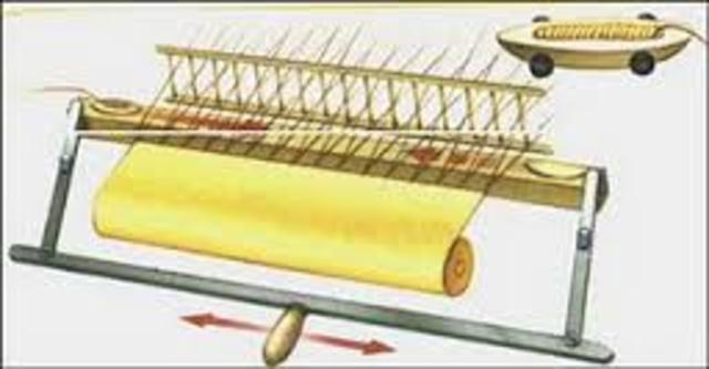 kay inventa la lanzadera volante