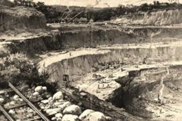 se inicia la construcción de canales en inglaterra