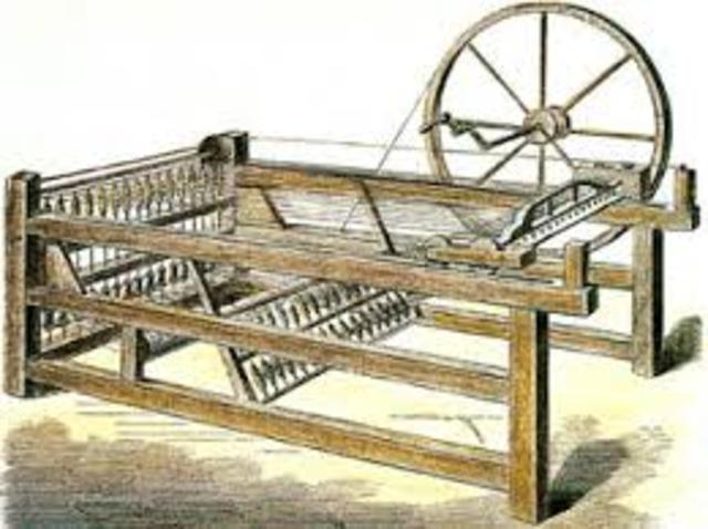 hargreaves  inventa la hiladira de algodón  spinning-jenny