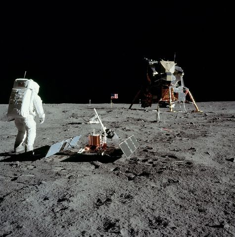 Første mann på månen
