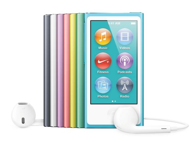 iPod Nano 7 released