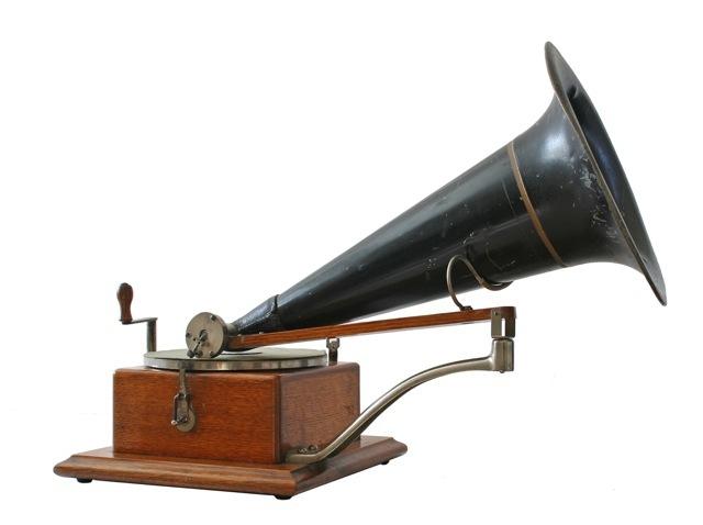 Gramophone Patented