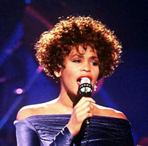 Whitney Houston is born