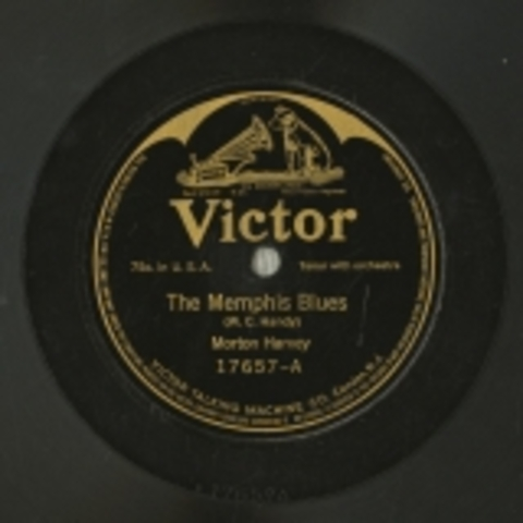 """MORTON HARVEY RECORDED """"MEMPHIS BLUES"""""""