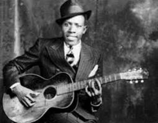 Robert Johnson records in San Antonio
