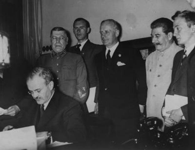 German Soviet Boundary and Friendship Treaty.