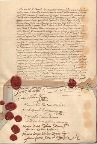 Treaty of Westphalia ends Thirty Years' War