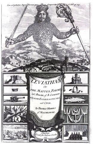 Thomas Hobbes' Leviathan published