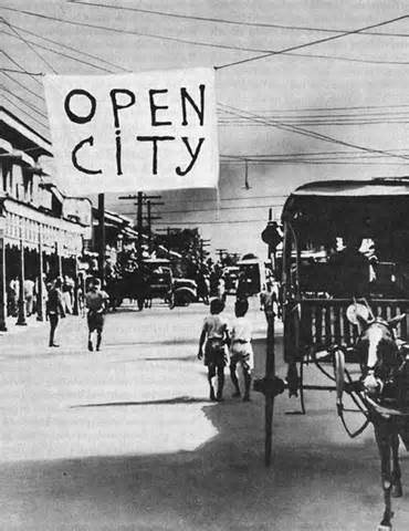Declaration of Manila as Open City
