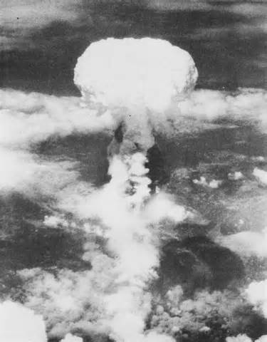 The Atomic bomb is dropped in Hiroshima