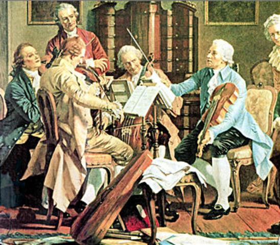 The Classical Period (1750-1800)