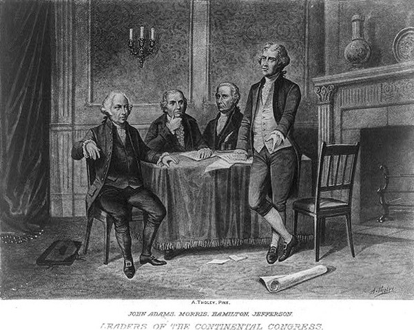 The Articles of Confederation adopted