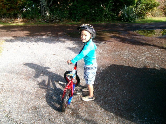 We are off for a bike ride!