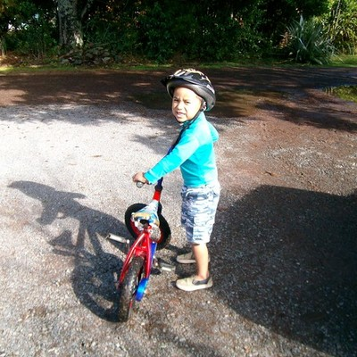 We are off for a bike ride! timeline