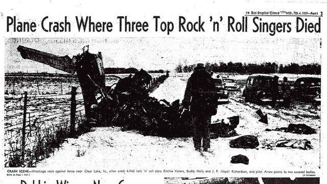 49- Buddy Holly dies in plane crash