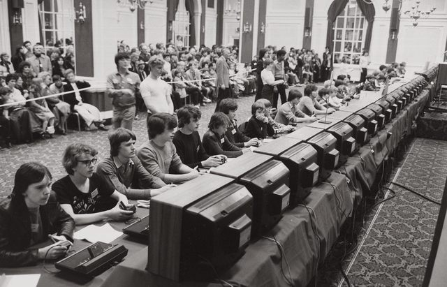 First Video Game Tournament