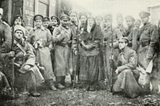 Russian Civil War That Began 119