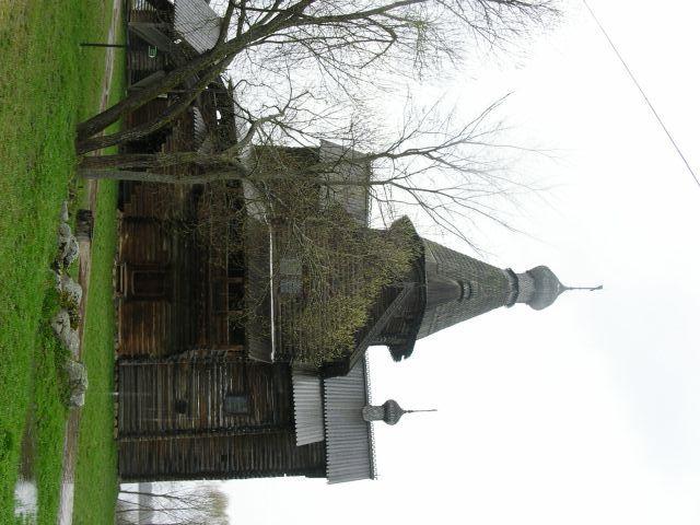 Возведение деревянной церкви