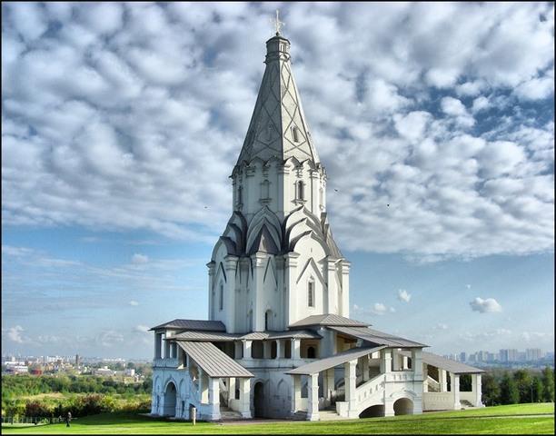 Начало строительства храма
