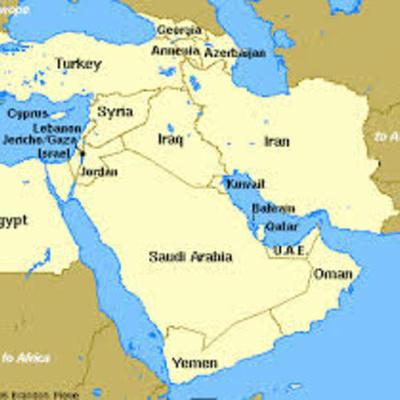 Modern Middle East timeline