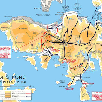The Battle of Hong Kong timeline