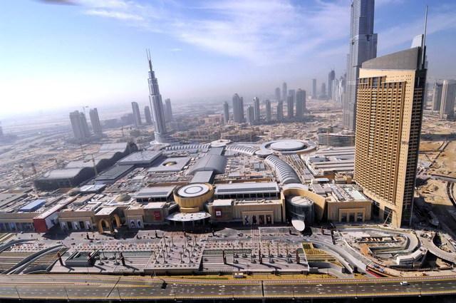 открытие Дубай молл