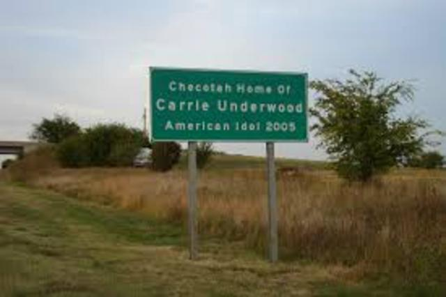 Birth of Carrie Underwood