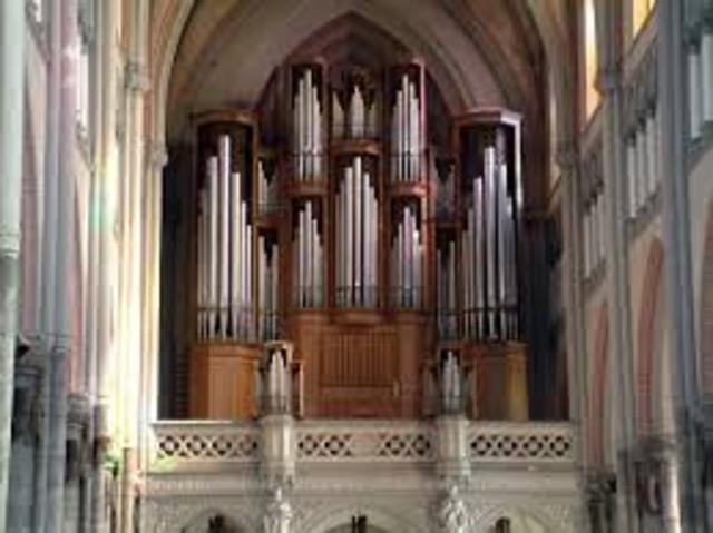Kościół katolicki do nabożeństw wprowadza organy