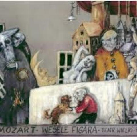 Wolfgang Amadeusz Mozat, ,,Wesele Figara''