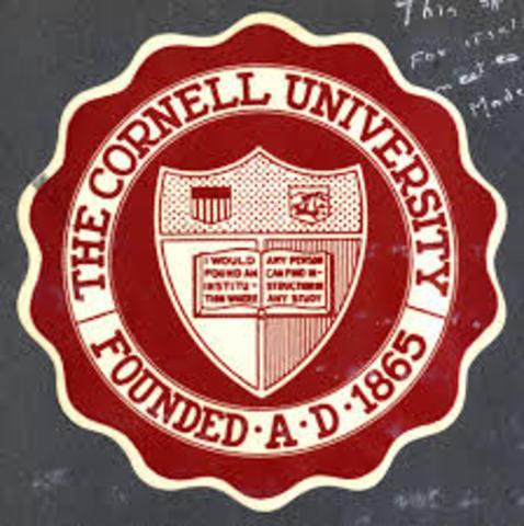 Mae enrolls at Cornell