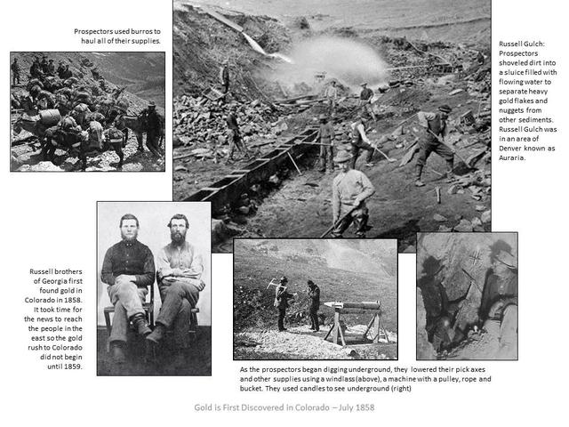 Colorado Mining Timeline Timetoast Timelines