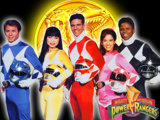 Power Rangers Begin