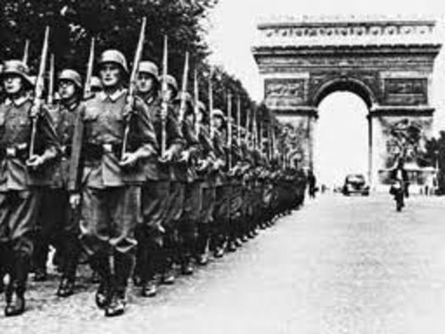Francia es Ocupada por Alemania